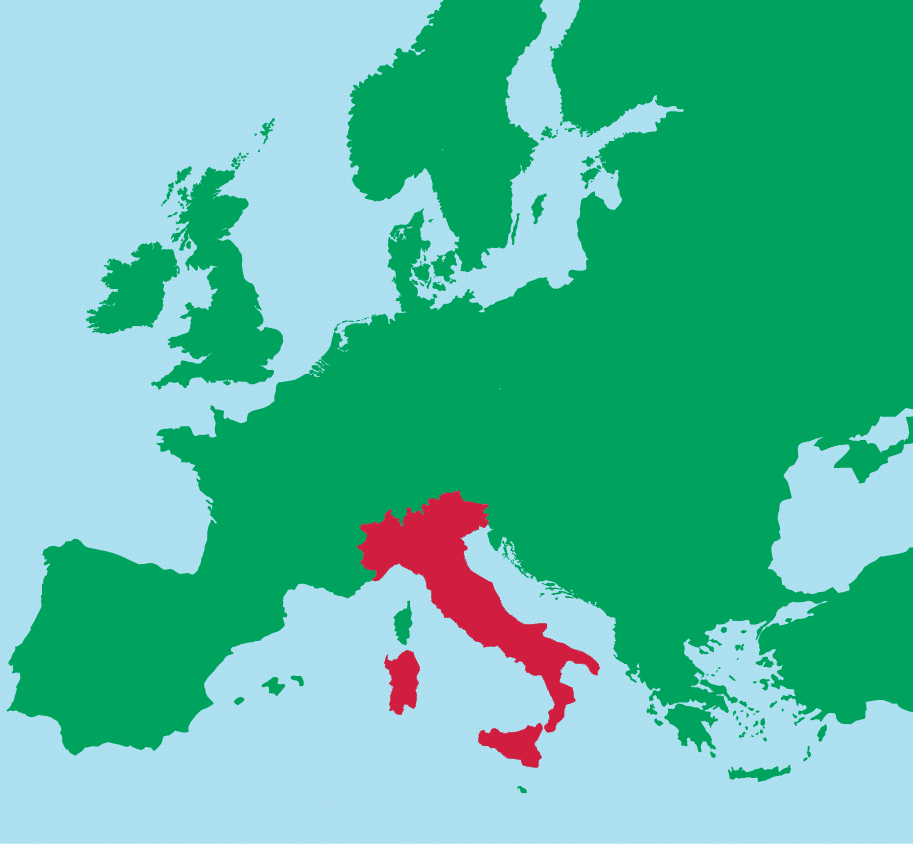 Italy in Europe