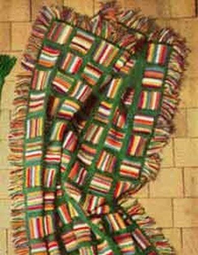 Crochet Multi Color Star Stitch Afghan Download Star