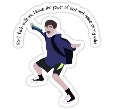 power  god  anime sticker  pokimation vine