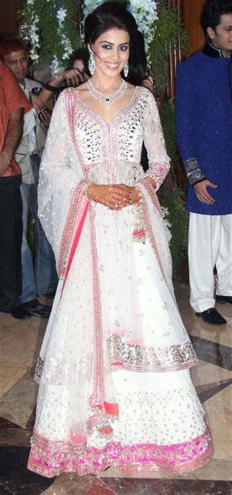 Genelia D?Souza Wedding Dress Designed by Ritu Kumar
