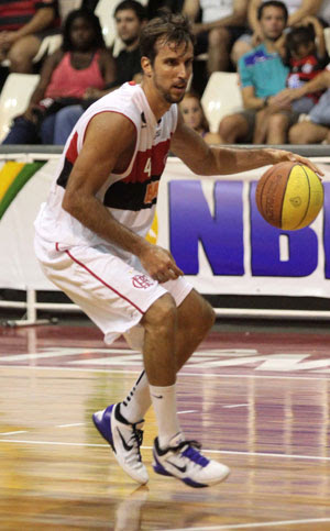 basquete Marcelinho Flamengo x Joinville (Foto: Fernando Azevedo / Fla Imagem)