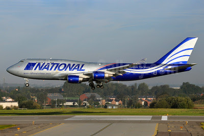National Airlines (5th) Boeing 747-428 (BCF) N949CA (msn 35630) BRU (Karl Cornil). Image: 911933.