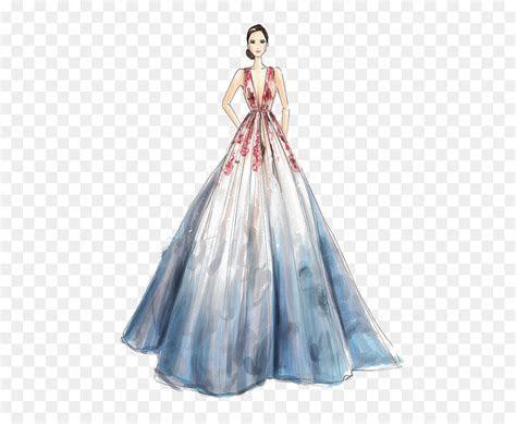 Wedding dress Drawing Fashion Sketch   Girls dress png