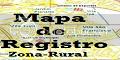 Mapa de Registro Zona Rural