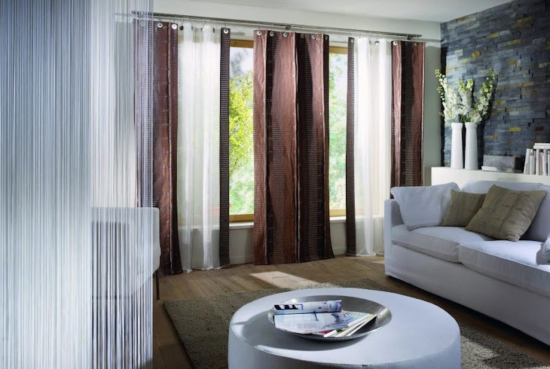 Cool Living Room Modern Curtains Styles pictures