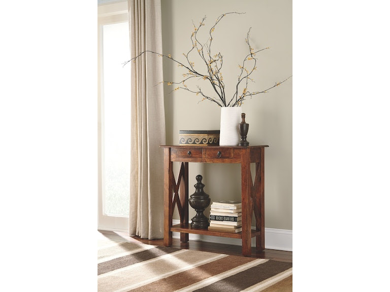 Signature Design By Ashley Living Room Console Sofa Table T800 114