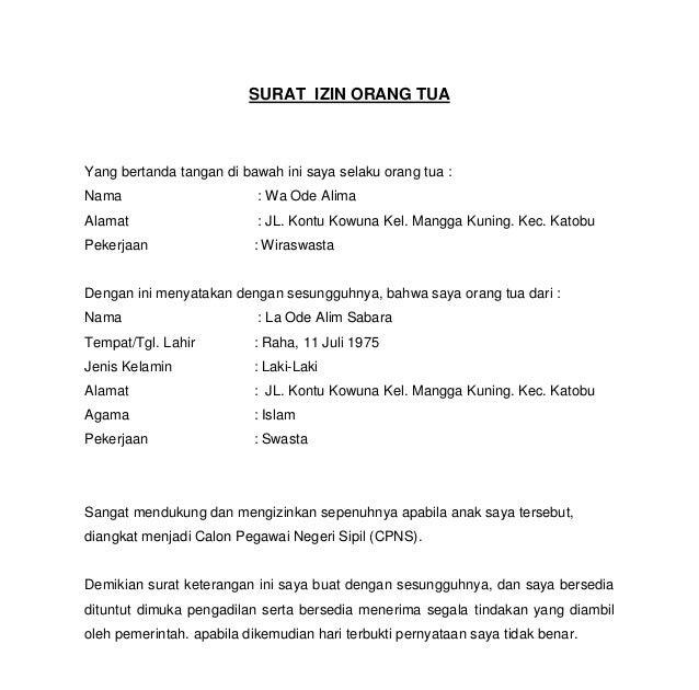 contoh surat pernyataan orang tua untuk pembuatan paspor anak rommy car