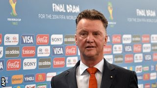 Dutchman Louis van Gaal managed Ajax to Champions League glory in 1995