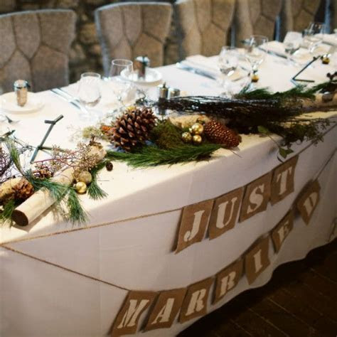Head Table Decor   Country Wedding   Rustic head tables
