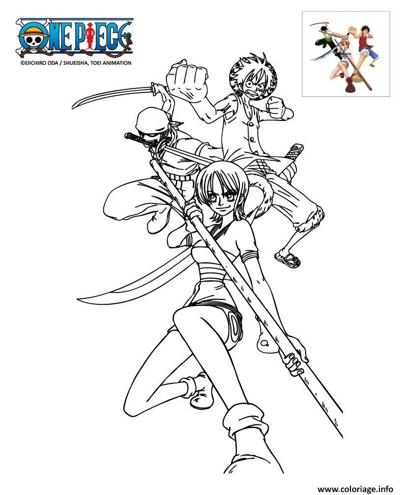 Coloriage De One Piece Logo Pour Colorier Dessin A Imprimer One