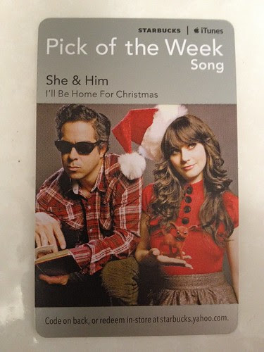 Starbucks iTunes Pick of the Week - She & Him - I'll Be Home For Christmas