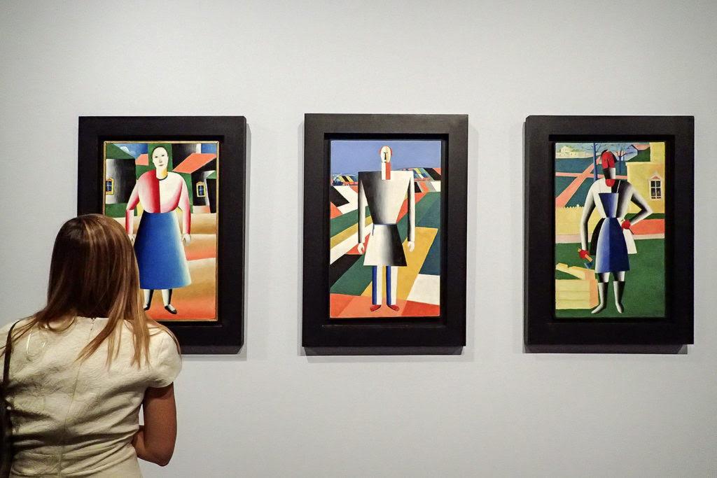 El Arte Supremo De Malevich En El Museo Ruso De Malaga De Museos