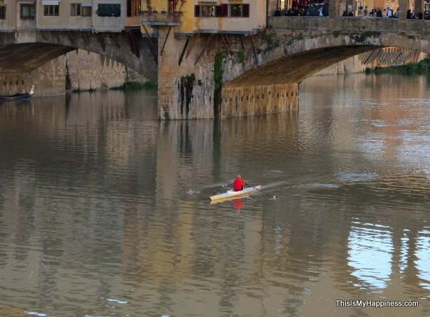 Arno River rowers