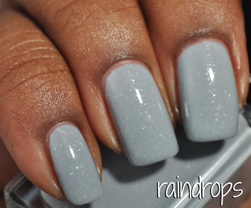 illamasqua light grey glass flecked shimmer nail polish