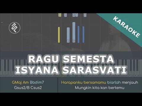 Isyana Sarasvati - Ragu Semesta Instrumental Piano Karaoke / Chord / Lirik