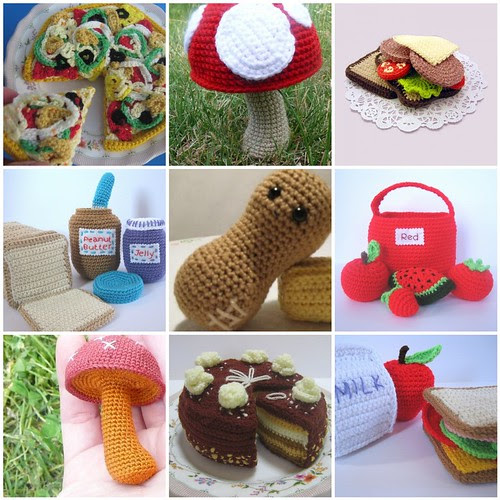 Crocheted food inspiration
