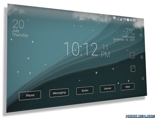 Download)++Final Interface - launcher + animated weather v2