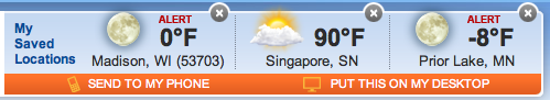 I am not missing the cold Minnesota/Wisconsin winters. Stay warm everyone! You could always come visit me in Singapore :)