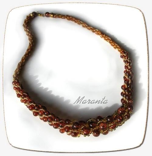 sznur turecki z koralików