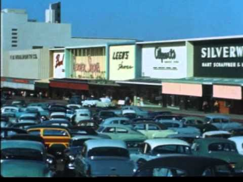 Pleasant Family Shopping: Shopping in Los Angeles - The 1950's