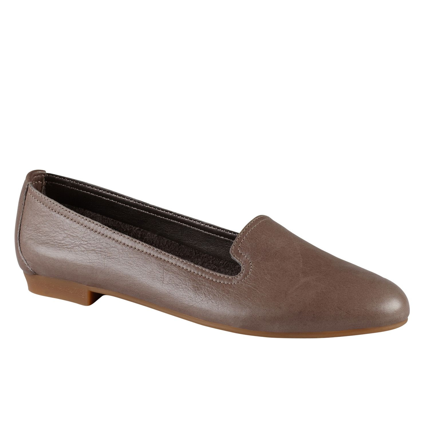 Aldo Zenica Leather Loafer Shoes in Brown (Grey) | Lyst
