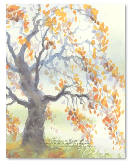 Fall Oak Back