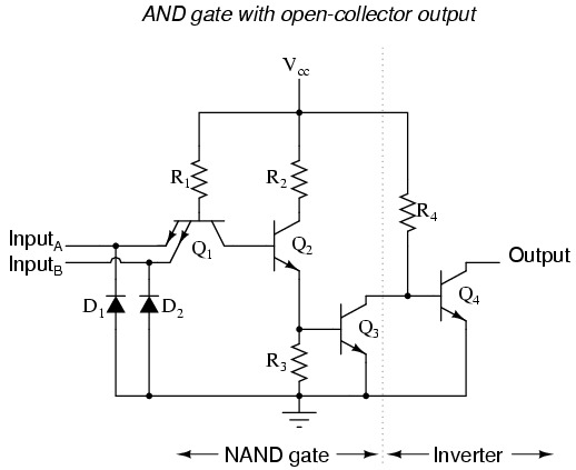 logic gates  lessons in electric circuits  volume iv chapter, circuit diagram