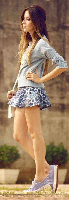 Look Du Jour:blueness by Fashion Coolture