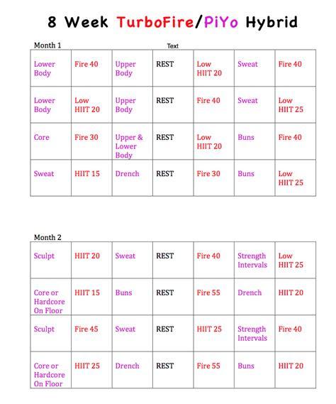 specific fitness program