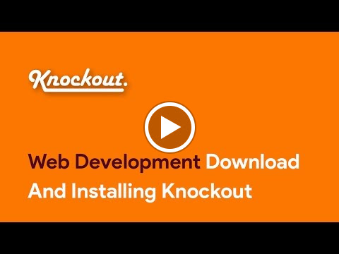 Download And Installing Knockout   You can buy our courses on  SkillBakery.com   http://skillbakery.com/course/master-knockoutjs-javascript  and on Udemy.com  https://www.udemy.com/master-knockoutjs-javascript