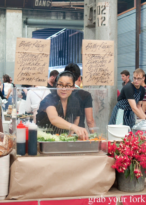 Kylie Kwong of Billy Kwong at the Sunday Marketplace, Rootstock Sydney 2014