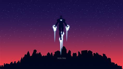 Wallpaper Iron Man, Fan art, Minimal, HD, Movies, #9769