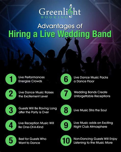 10 Reasons to Hire a Wedding Band for Your Wedding Reception