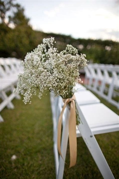 September wedding DIY decor, Rustic wedding chair decor