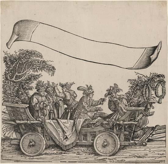 Hans Burgkmair: Triumphal procession of Maximilian I