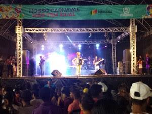 Último dia de carnaval em Petrolina (Foto: Luana Bernardes/TV Grande Rio)