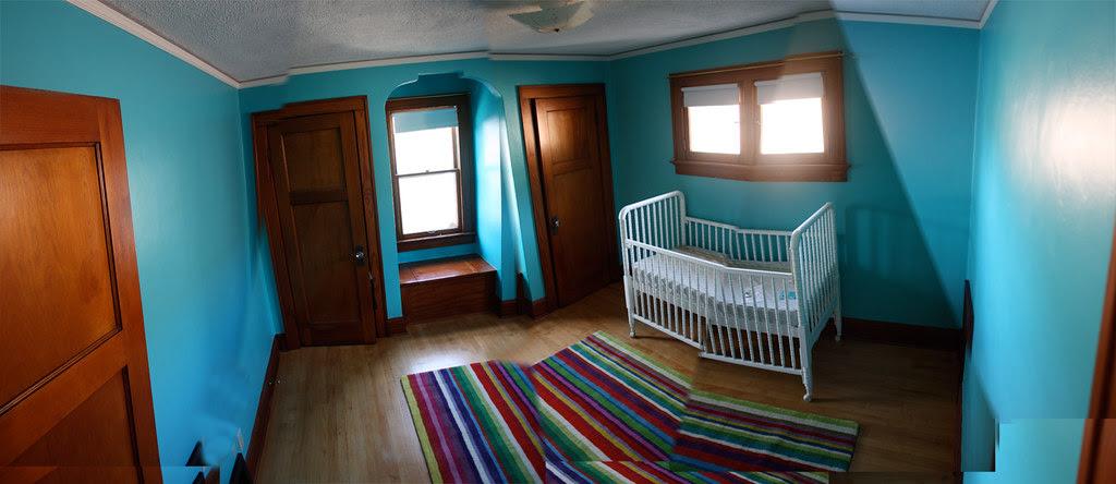 nursery pano painted
