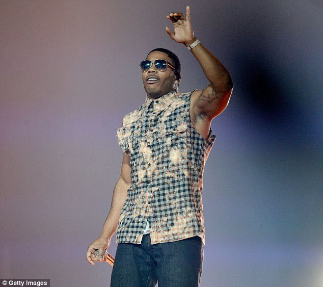Hitmaker: Nelly remains one of the biggest selling rap artists in the US, shifting more than 22million albums