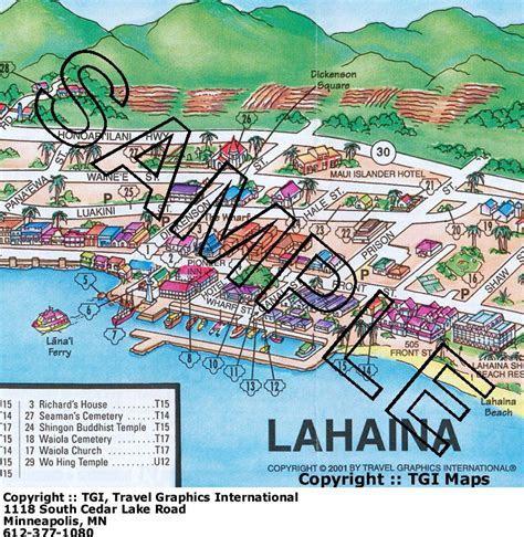 detailed maui map