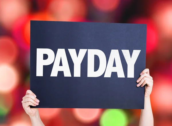 depositphotos_84012470 stock photo payday card with blurred background