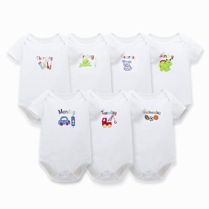 256c081cdd4b Baby Bodysuits Boy Girl Clothes Similar Carters Clothing Newborn Grows  Unisex Brief Purecolorin