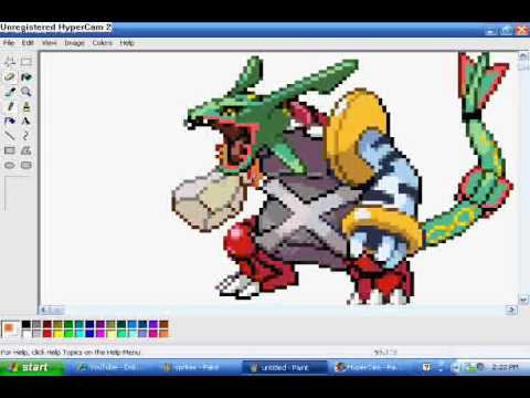 pokemon sprite creator 4  YouTube