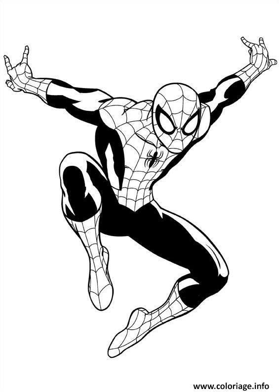 Vedkokeven Blogspot Com Dessin à Imprimer Spiderman 3