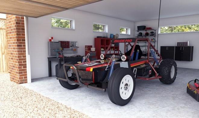Радиоуправляемую игрушечную машинку из 80-х «вырастили» до полноценного электромобиля