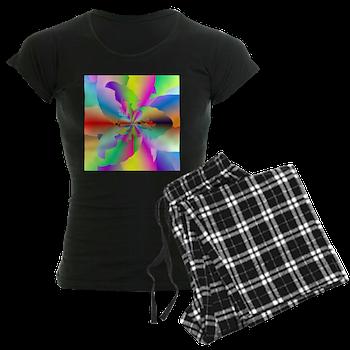 Fractal Fire Flower Pajamas