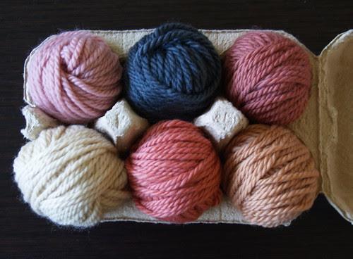 Bouton d'Or organic wool