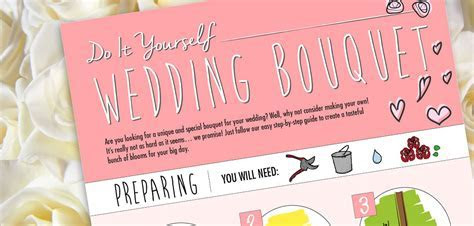 How to make your own wedding bouquet   Jewellery & Watch