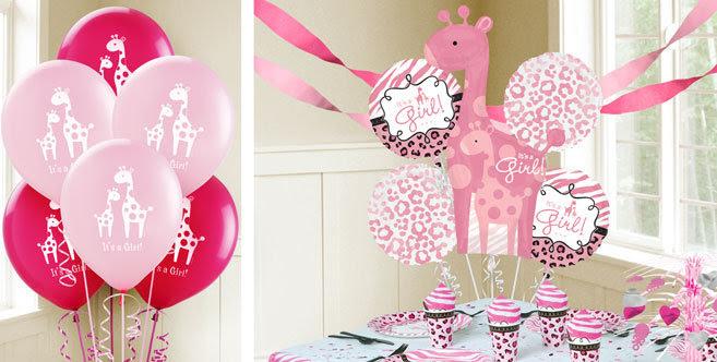 Pink Giraffe Baby Shower Decorations  from lh5.googleusercontent.com