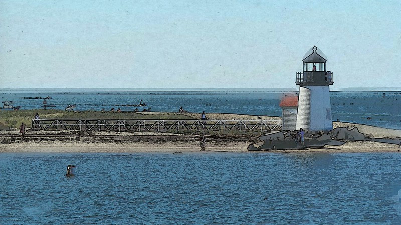 Nantucket: Brant Point Lighthouse