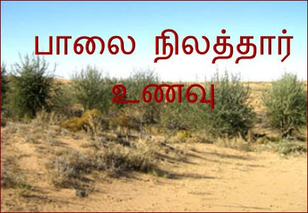 தபை்பு-பாலைநிலம்,உணவு : thalaippu_paalainilathaar_unavu